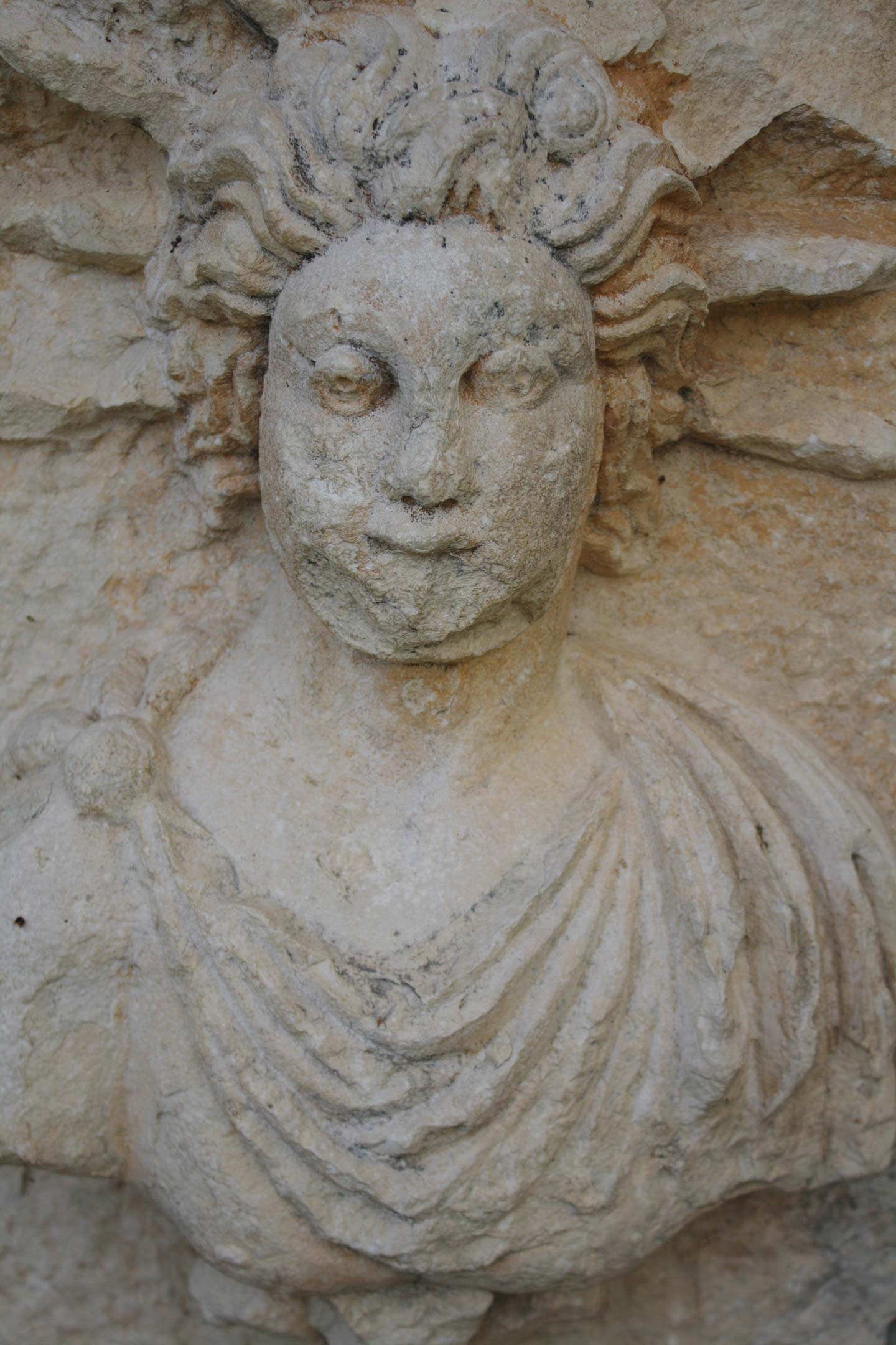 Carving of Goddess