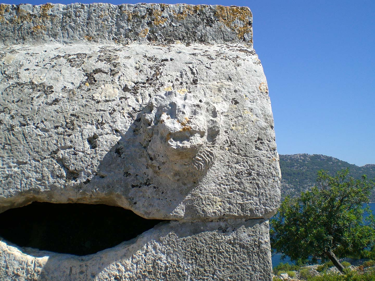 Lycian Rock tomb in Simena