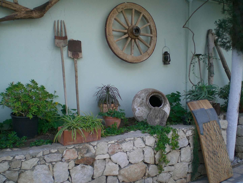 Garden Old Farming Tools 2