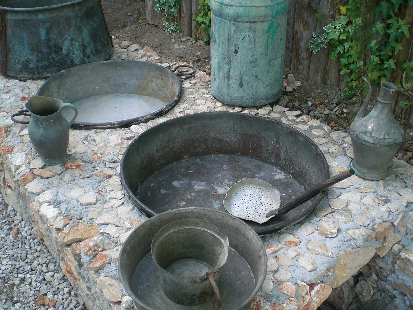 Garden Traditional Cooking Methods