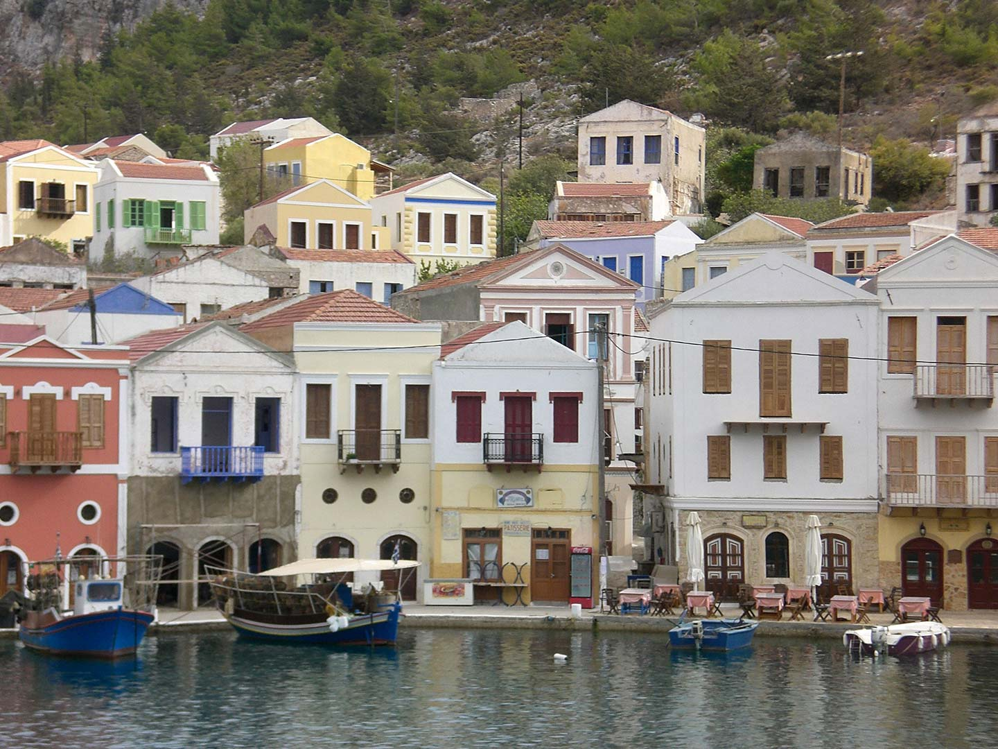 Greek Harbour of Meiz
