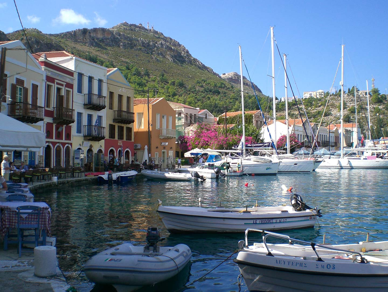 Greek Island of Meis Opposite Kas