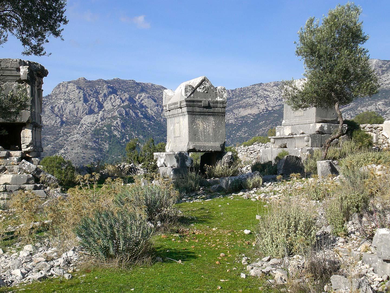 Lycian Sarcophogus