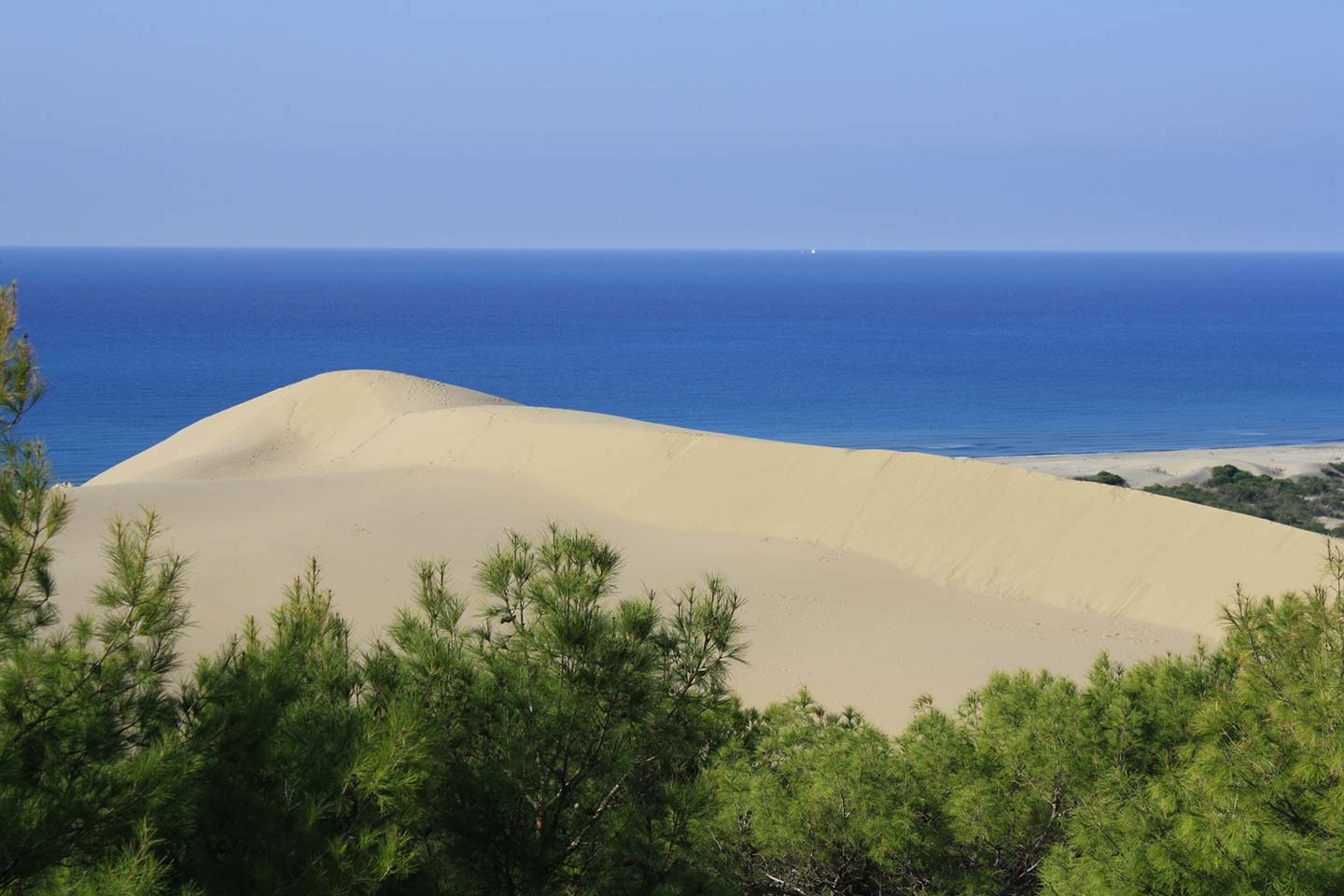 Patara Beach Over The Dunes