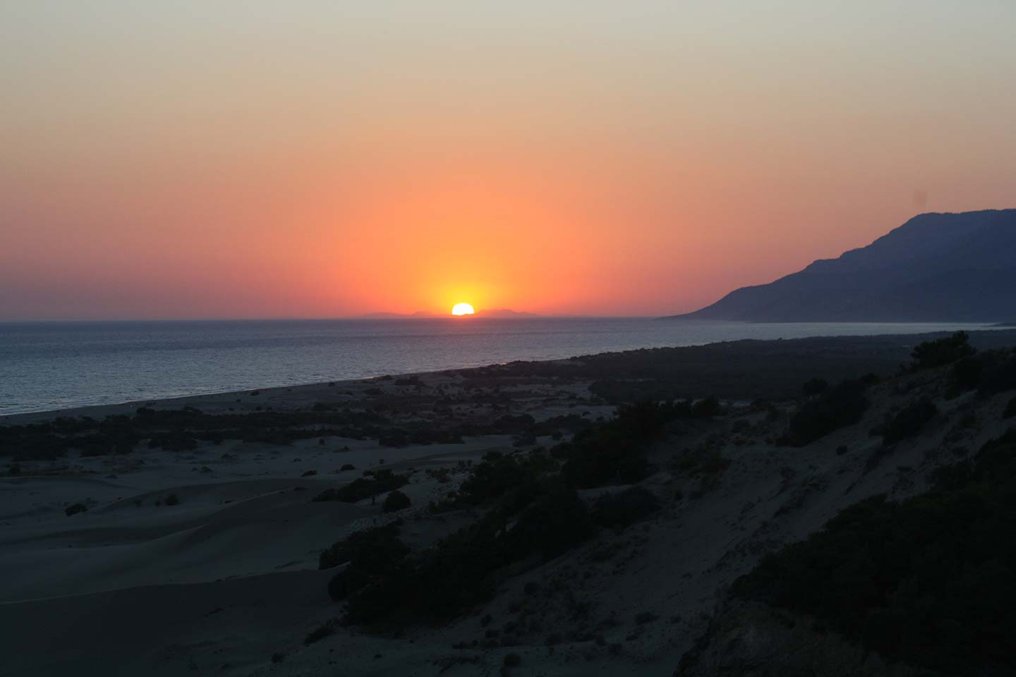 Patara Beach Sunset