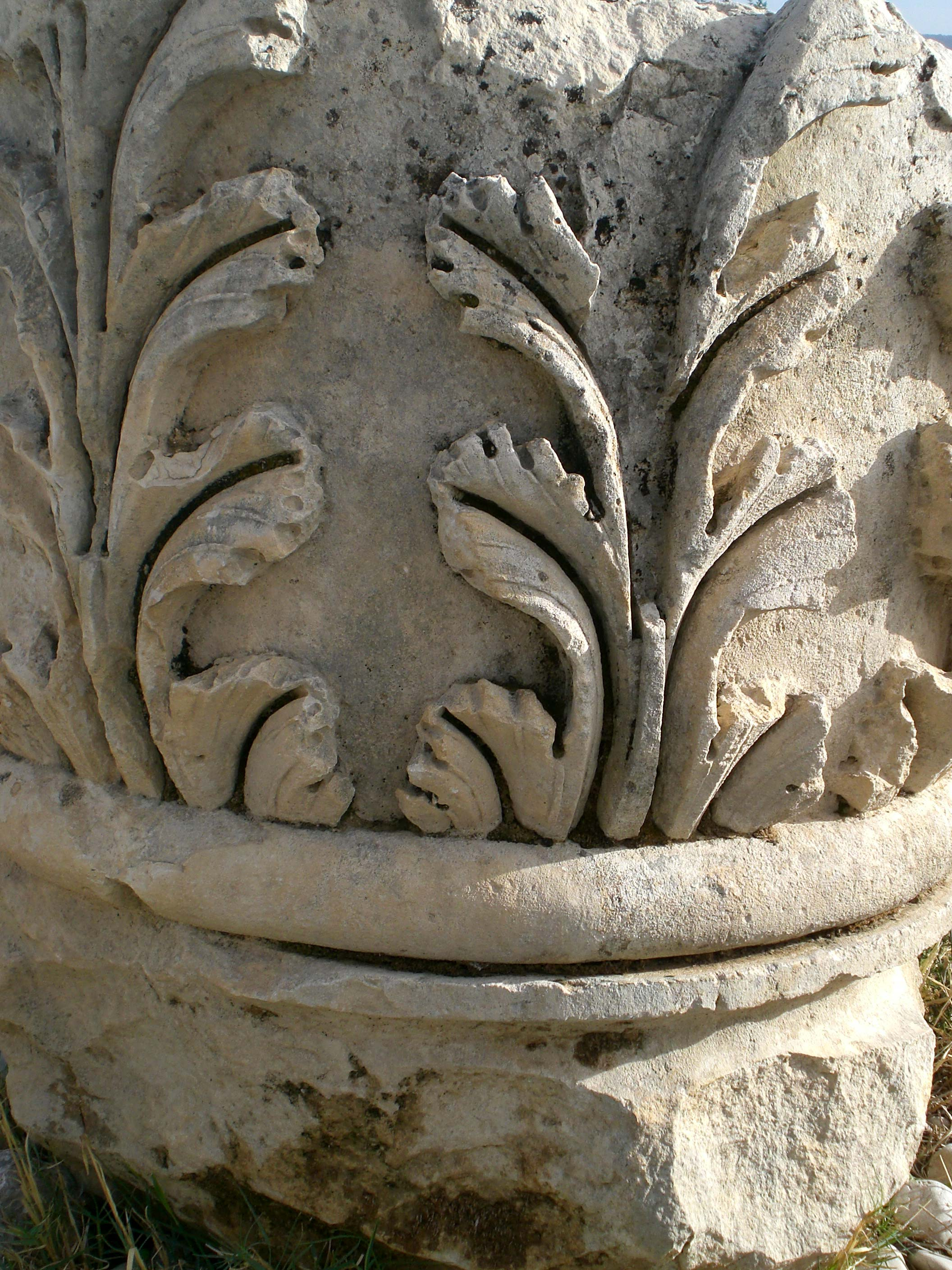 Patara Decorated Column