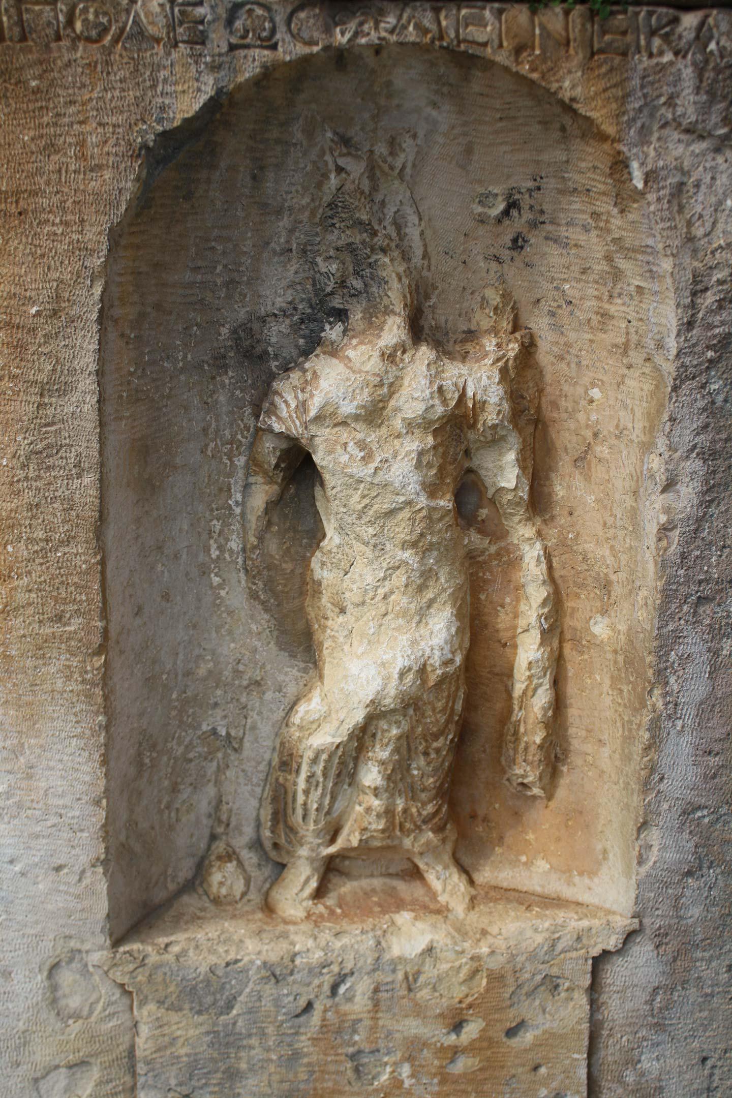 Statue in Myra