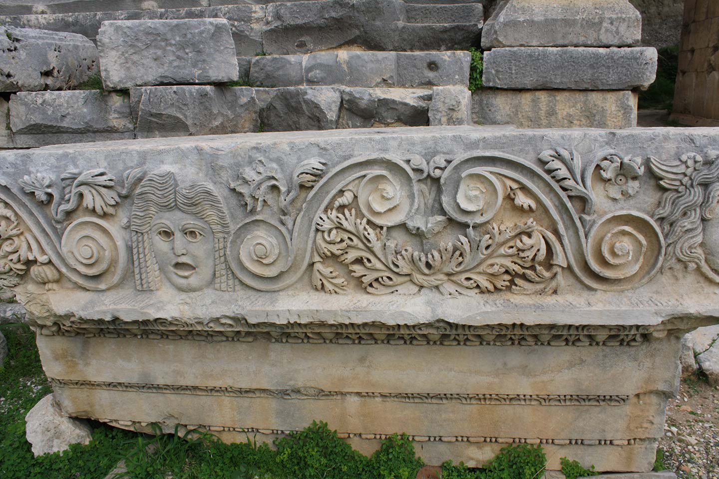 Stone carving Myra