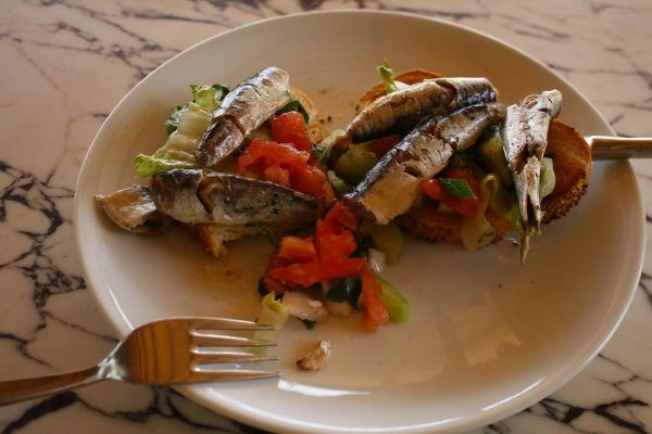 Turkish Meze Sardines