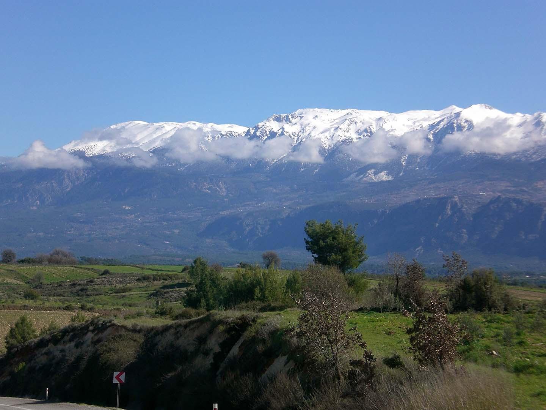 mountain view, road to Fethiye