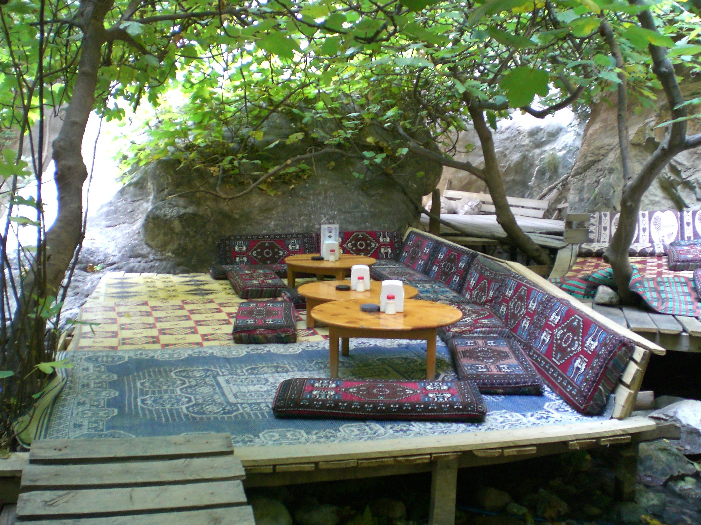 saklikent gorge cafe